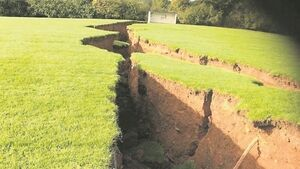 Collapse of pillars as result of mining operation 'probably reason' for sinkholes in rural Monaghan
