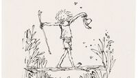 Your chance to buy drawings by Roald Dahl illustrator Quentin Blake