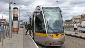 Map of house prices along tram routes reveals 15% premium to live near the Luas