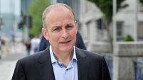 Micheál Martin denies signing 'cowardice-and-surrender' deal with Fine Gael