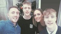 Young Cork man leaves Intensive Care to recover from brain injury