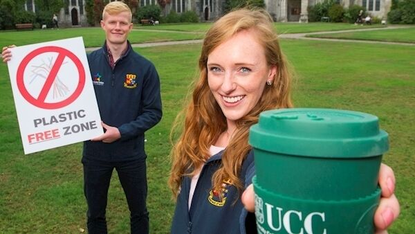 University College Cork is home to Ireland's first plastic-free café, which has prevented more than 20,000 disposable items going to waste since it opened in September. Pic: Provision.