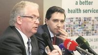 Simon Harris rebuffs Tony O'Brien's 'frightened little boy' criticism
