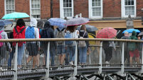 Rainfall warning issued for Dublin, Louth, Wicklow and Meath