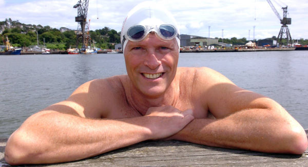 Ned Denison has completed 47 epic marathon swims and is up for a major award.