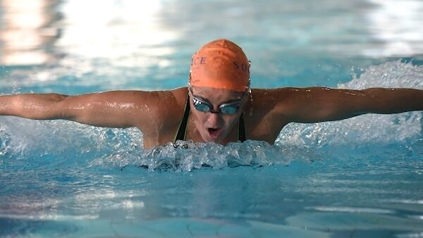 Eilis Burns, who has put thousands of Cork swimmers through their strokes, is a renowned pool coach and excels in improving stroke and devising training programmes. Picture: Larry Cummins