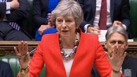 May appeals to MPs to 'be patriotic' and vote for her Brexit deal