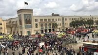 Egypt PM promises harsh punishment for fire that has killed at least 25