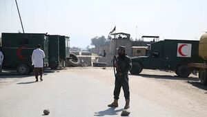 Suicide bombs near Afghan airport kill 16