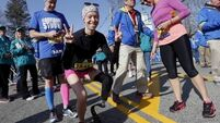 Boston Marathon amputee 'completely broken' after being struck by car