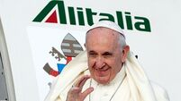 Pope Francis urges politicians of all faiths to oppose abortion