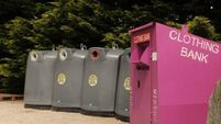 Woman dies after becoming stuck in clothing bin