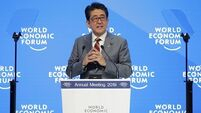 Brexit woes and trade rows among risks to global economy, says Japanese PM