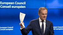 Donald Tusk: Deal agreed 'in principle' on future relationship between UK and EU