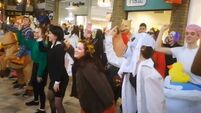 VIDEO: These Irish students Halloween-themed flash mob is just brilliant