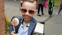 VIDEO: This seven-year-old went as Conor McGregor for Halloween and we can't cope