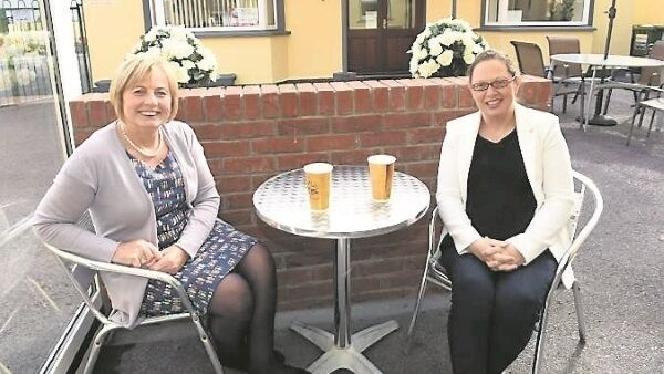 Noreen Keane, deputy manager, and Elaine McCarthy, manager, at Broad Street Restaurant and Charleville and District Family Education Centre.