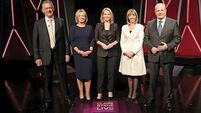Heckler forces Claire Byrne's Presidential debate off-air and here's what people had to say