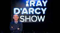 This Saturday's Ray D'Arcy Show line-up revealed