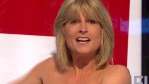 Rachel Johnson bares all on TV in Brexit protest