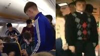 WATCH: Kerry school recreate that Father Ted caravan scene on a recent Ryanair flight