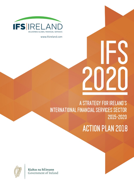 IFS 2020, the Government's strategy to created 10,000 jobs over five years in the financial services sector.