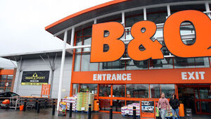 B&Q owner sees sales fall
