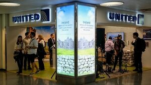 Tourism Ireland takes over part of New York's Penn Station in new promotion