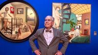 'Jesus, did I paint them?'; Robert Ballagh reacts to the nude portraits to him and his wife