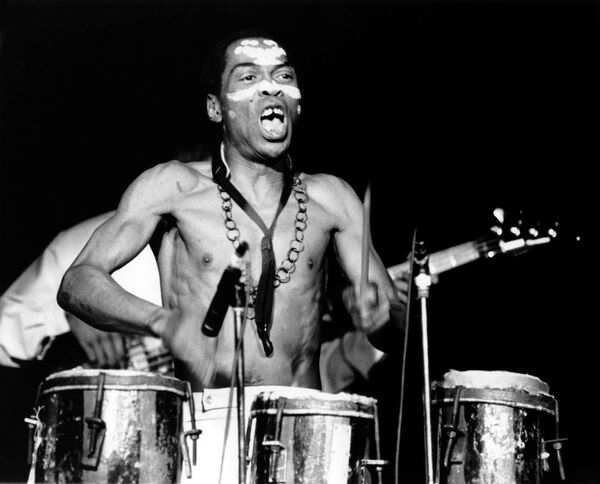 Fela Kuti: 'You have the high life elements, you have the funk and the soul elements. And jazz was a massive influence as well.'