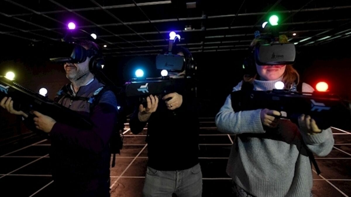Virtual reality franchise to open its doors in Dublin is a free-roaming gaming experience like no other