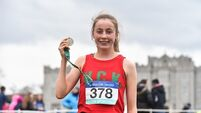 Sarah Healy seals her place in schools' athletics history