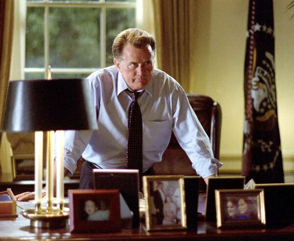 Martin Sheen as President Bartlett in The West Wing. Picture: AP Photo/Warner Brothers.