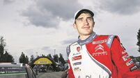 Craig Breen falls from possible win to seventh
