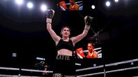 Katie Taylor victorious over Rose Volante in career-topping performance