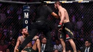 Conor McGregor and Khabib Nurmagomedov banned and fined for post-fight brawl