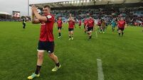 O'Mahony believes Munster are ready to click