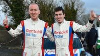 Craig Breen's late move decisive in Galway Rally