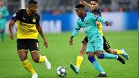 Ter Stegen denies Dortmund as Barcelona struggle in Champions League opener