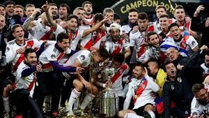 River Plate celebrate Copa Libertadores with 'It's a Long Way to Tipperary' tune