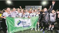 Late Hoban goal see Dundalk claim league title