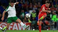 Wales star Bale '50-50' to face Ireland, says Giggs