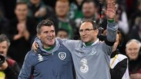 Martin O'Neill and Roy Keane part company with the FAI