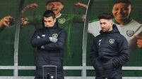 Seamus Coleman and Sean Maguire sit out Ireland training