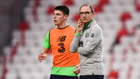 Martin O'Neill still hopeful Declan Rice will declare for Ireland despite some England advantages