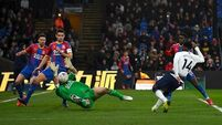 Crystal Palace pile agony on Spurs