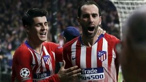 Defensive duo earn Atletico Madrid first-leg advantage