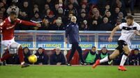 Championship wrap: Nottingham Forest lose on Martin O'Neill's return; Leeds slip up after controversial week