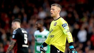 Bohs keeper Shane Supple forced to retire due to injury