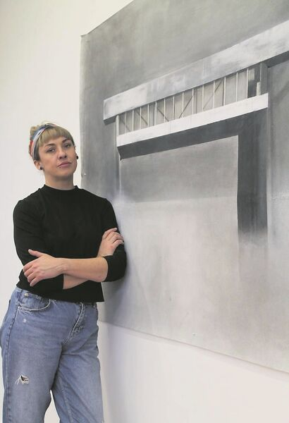 DRAWING ON EXPERIENCE: Artist Ciara Rodgers says older people's rich personal histories can be a source of inspiration.